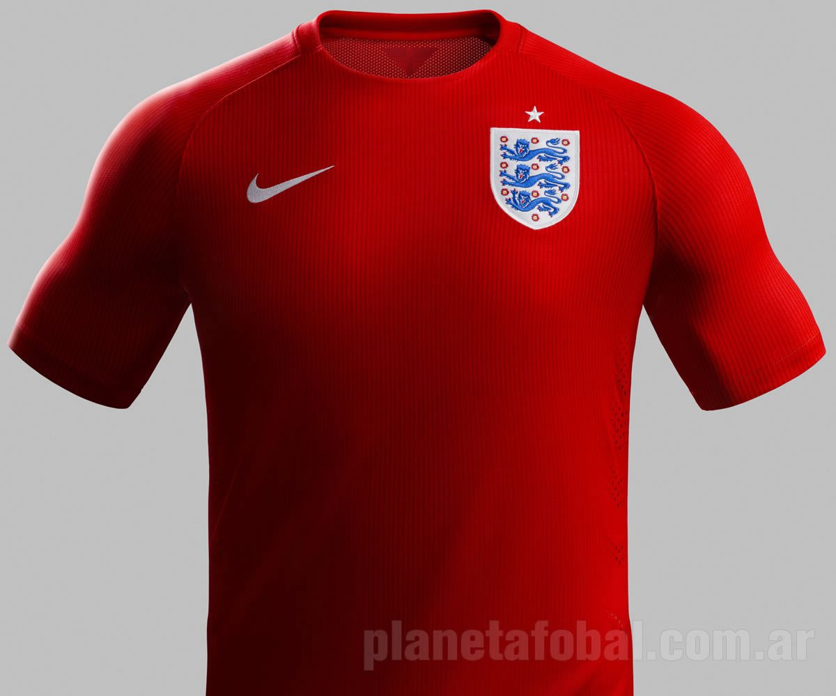 Nueva camiseta suplente de Inglaterra para 2014 | Foto Nike