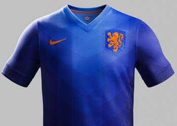 Así luce la nueva camiseta suplente de Holanda | Foto Nike