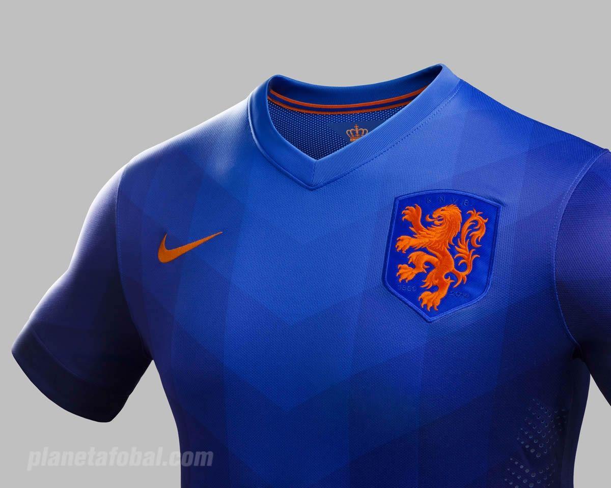 307cfef67f417 camiseta nike azul holanda
