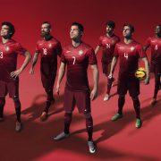 Nueva camiseta titular de Portugal | Foto Cristiano Ronaldo