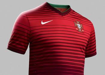Nueva indumentaria principal de Portugal | Foto Nike