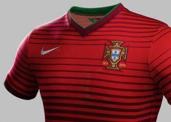 Nueva camiseta titular de Portugal | Foto Nike