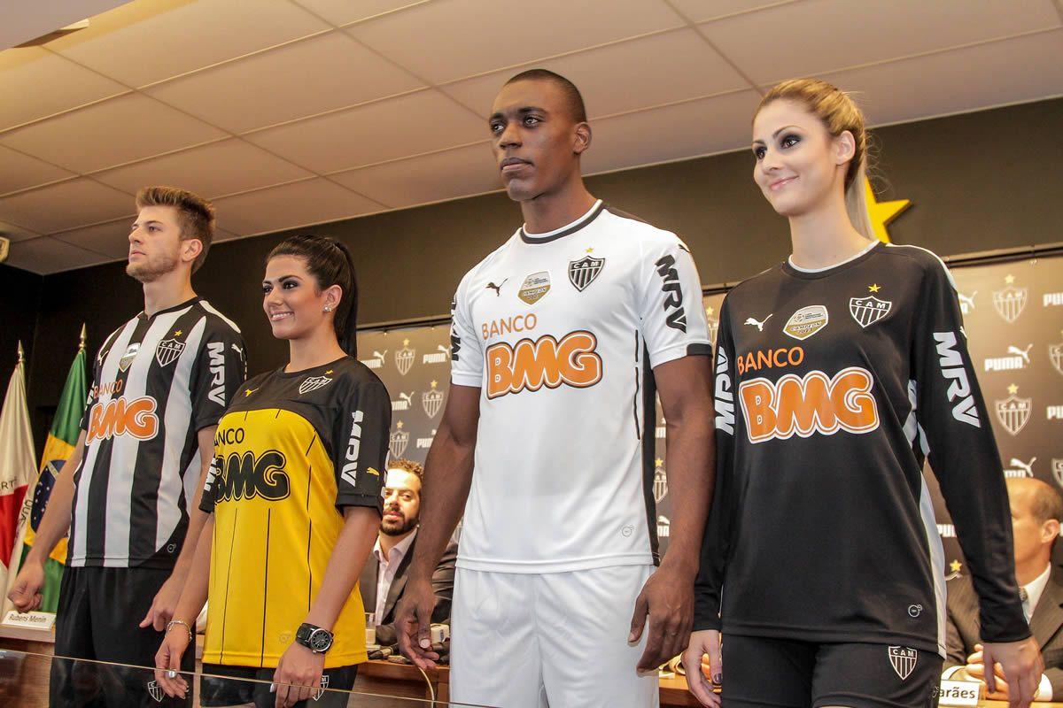 Nuevas camisetas Puma de Atlético Mineiro | Foto web oficial