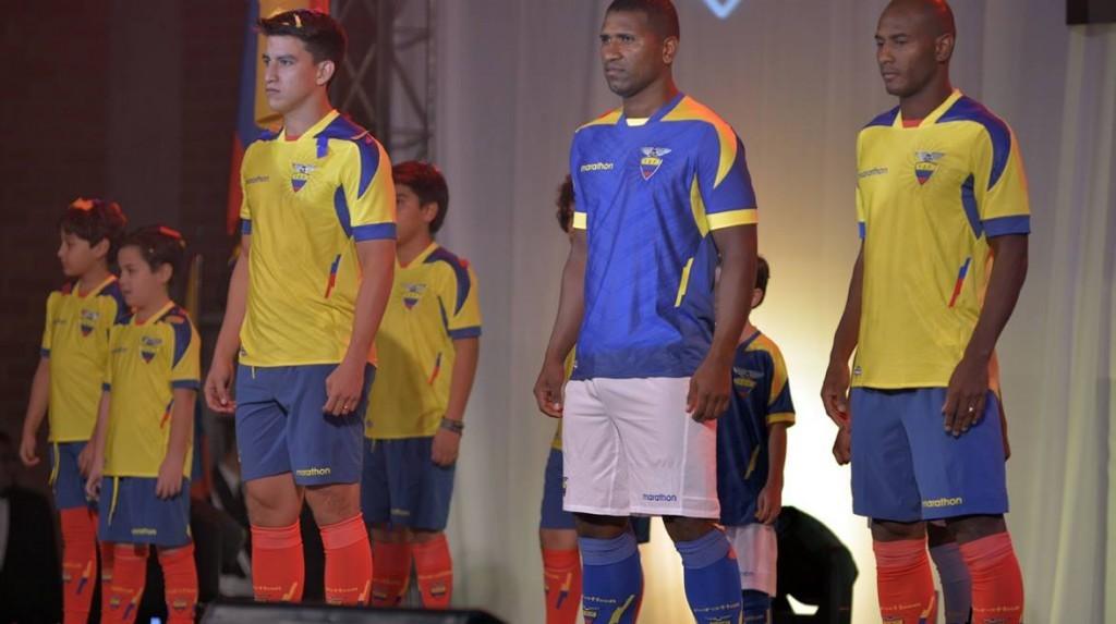 Así lucen las nuevas camisetas de Ecuador | Foto Marcador