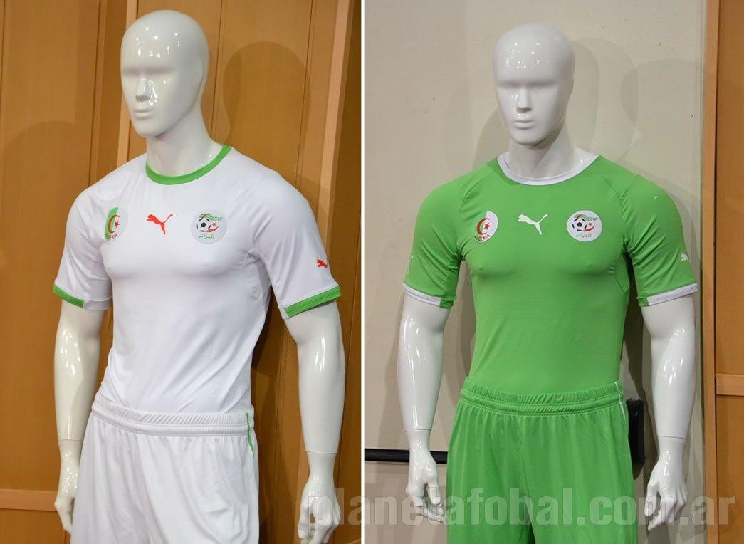 Así luce la nueva indumentaria de Argelia | Foto DZFOOT