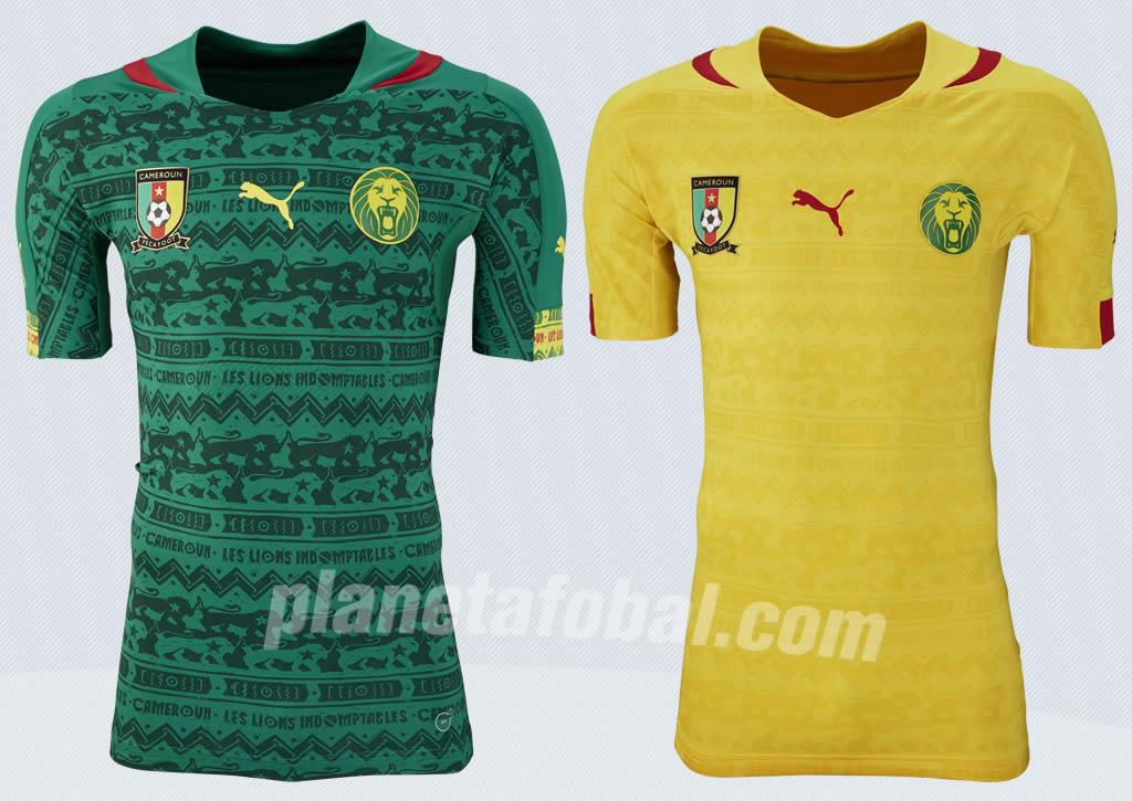 Nuevas camisetas de Camerún | Foto Puma