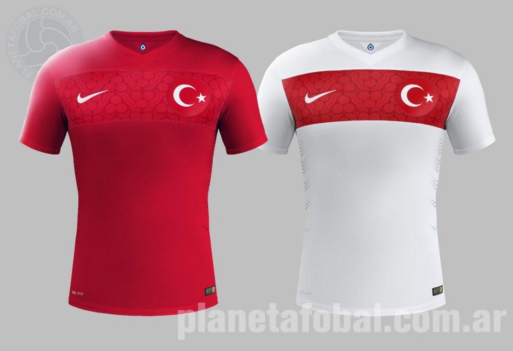 Así lucen las nuevas camisetas de Turquía | Foto Nike