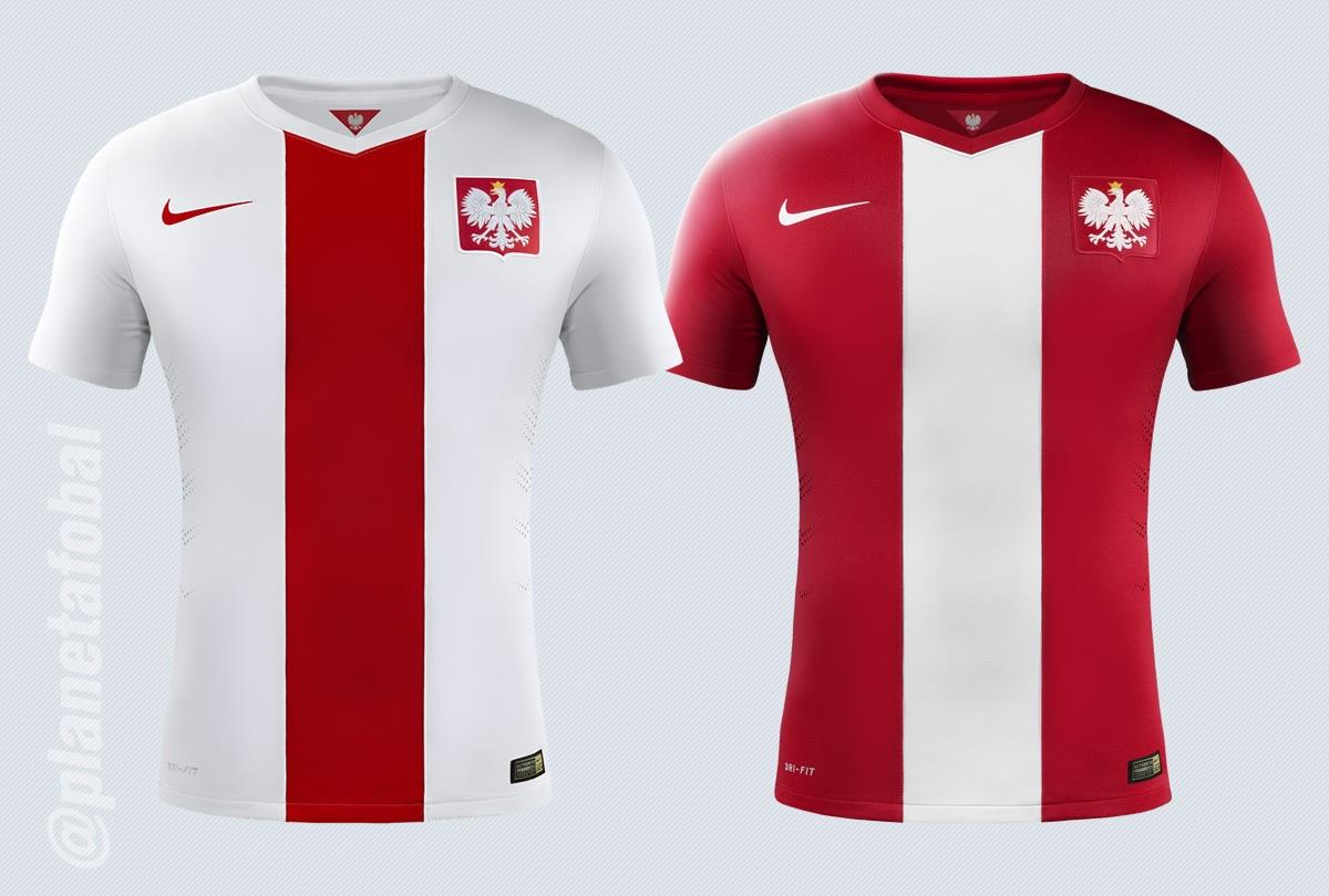 La camiseta titular (izq) y la suplente (der) | Imágenes Nike