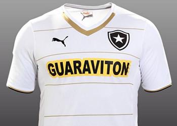 Asi luce la tercera casaca de Botafogo | Foto Puma