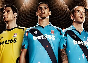 Camiseta suplente Stoke City | Foto Warrior