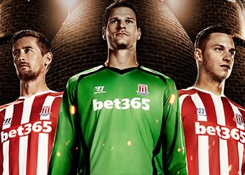 Camiseta titular de Stoke City | Foto Warrior