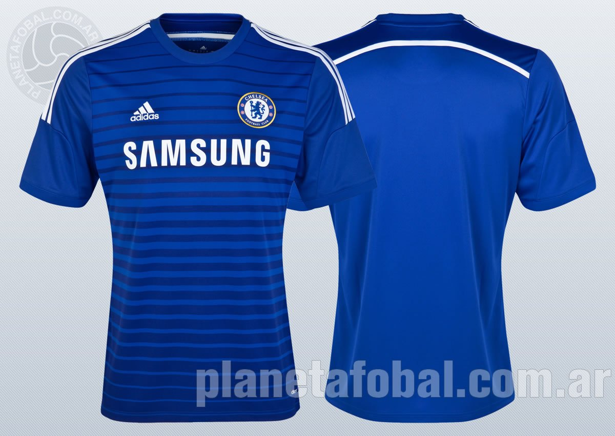 Asi luce la nueva camiseta del Chelsea | Foto Web Oficial