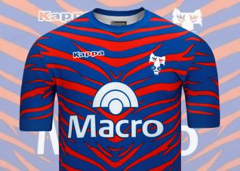 La nueva camiseta de Tigre | Foto Kappa