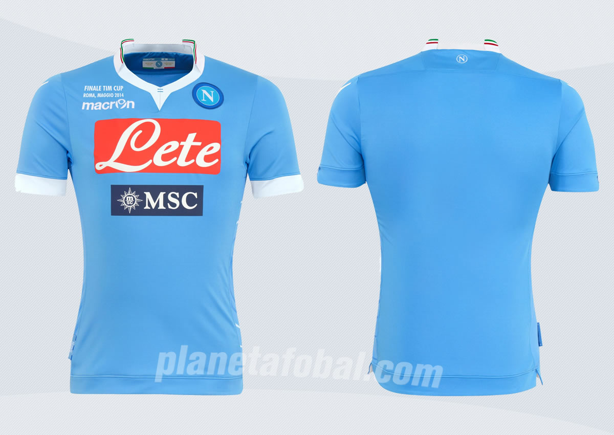 Asi luce la camiseta especial del Napoli | Foto Web Oficial
