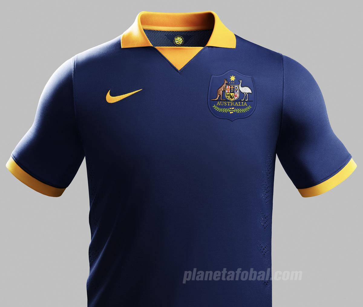 Camiseta suplente de Australia | Foto Nike