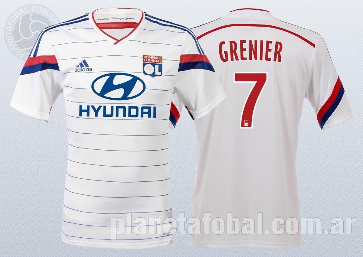 Asi luce la nueva camiseta del Lyon de Francia | Imágenes Web Oficial