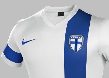 Asi luce la nueva indumentaria de Finlandia | Foto Nike