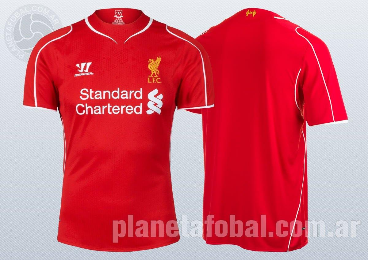 Asi luce lanueva camiseta del Liverpool | Imagenes Web Oficial
