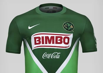 Camiseta verde Nike de América | Foto Terra