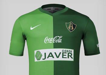 Clubes mexicanos estrenaron camisetas verdes Nike  50740f29b97df