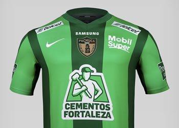 Camiseta verde Nike de Pachuca | Foto Terra