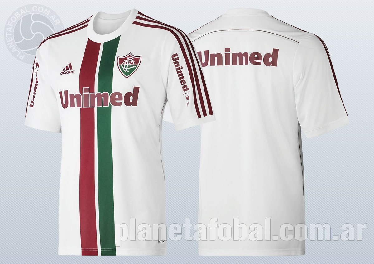 Nueva camiseta suplente de Fluminense | Foto Adidas