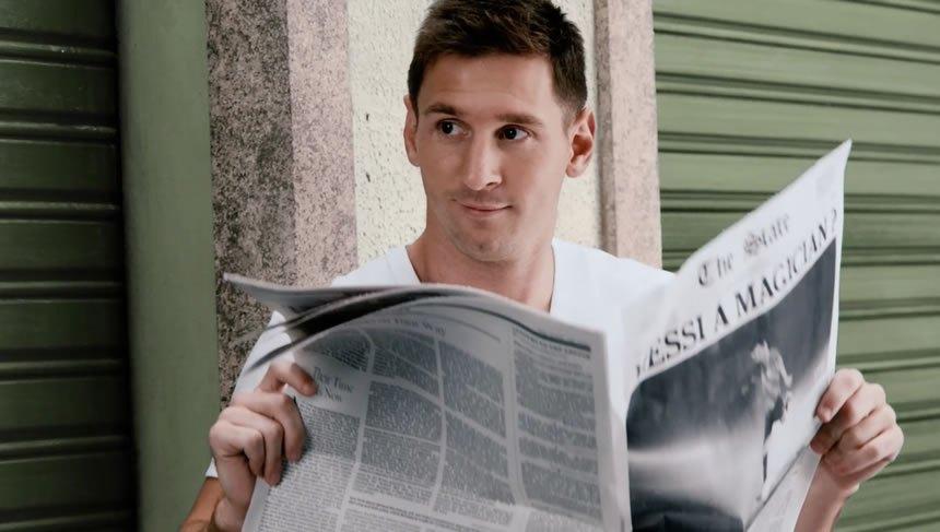 Lionel Messi es uno de los protagonistas en el anuncio | Foto Pepsi