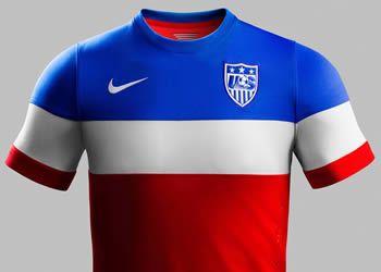La camiseta suplente de Estados Unidos | Foto Nike