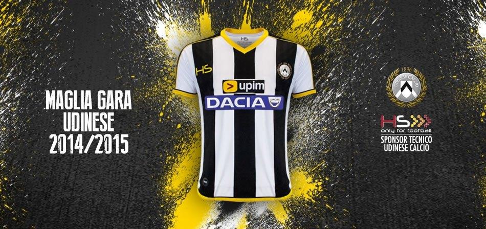 Nueva camiseta titular de Udinese | Foto HS Football