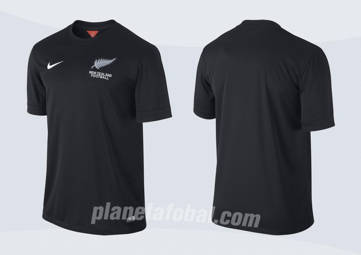 Asi luce la camiseta suplente de Nueva Zelanda | Imagenes Nike