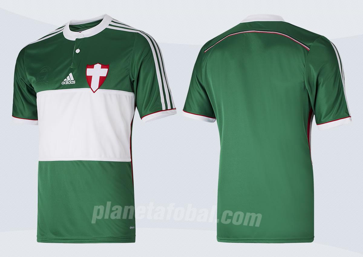 Tercera equipación de Palmeiras para 2014   Foto Lance