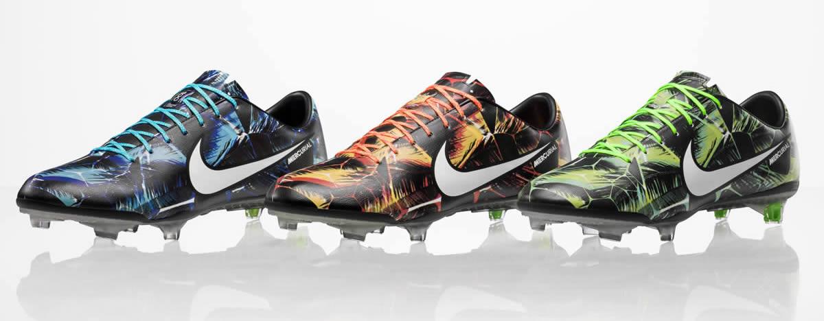 Asi luce el Tropical Pack de los Mercurial | Foto Nike