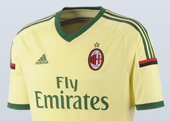 Asi luce la tercera camiseta del Milan para 2014/15 | Imágenes Adidas