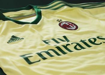 Tercera camiseta del Milan para 2014/2015 | Foto Adidas