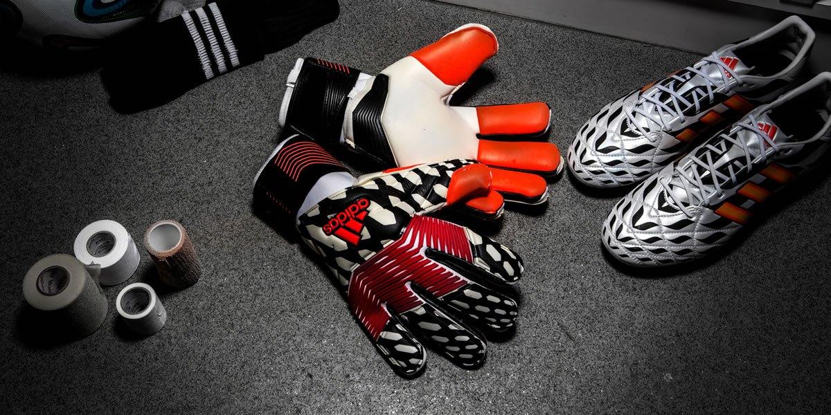 Los guantes de los porteros Adidas en el Mundial 2014