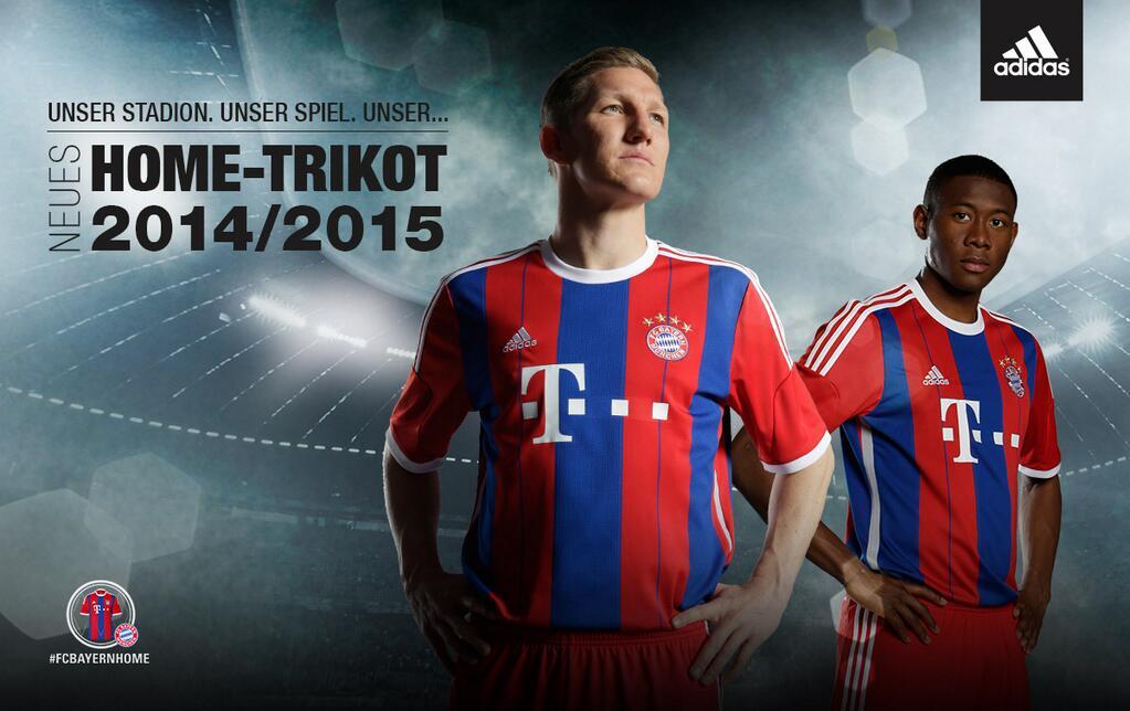 Así luce la nueva camiseta titular de Bayern Munich | Foto web oficial