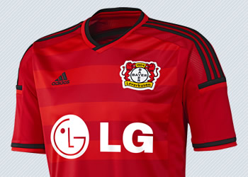 Nueva camiseta del Bayer Leverkusen | Imagen Adidas