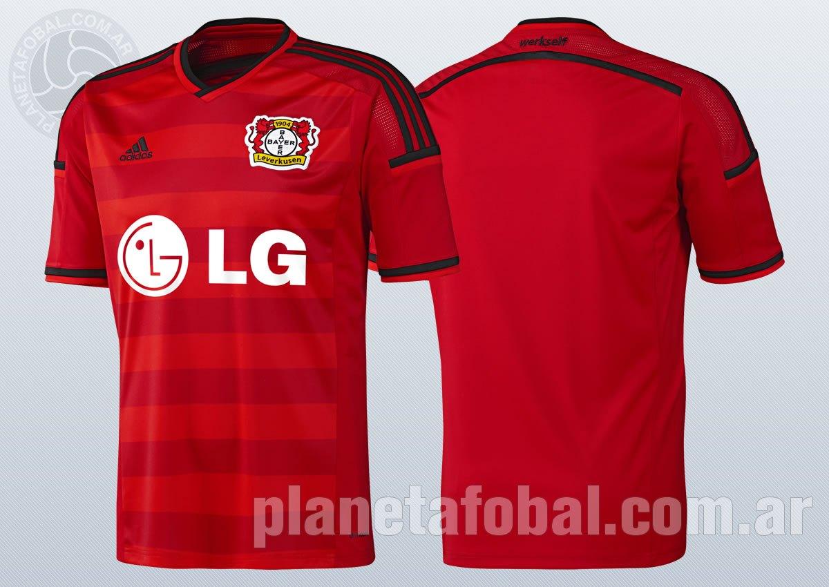 Nueva camiseta del Bayer Leverkusen | Imágenes Adidas