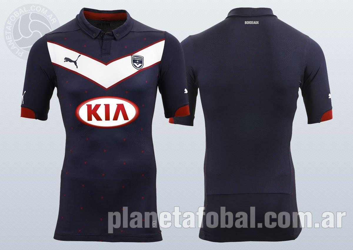 La nueva camiseta del Bordeaux | Imágenes Web Oficial