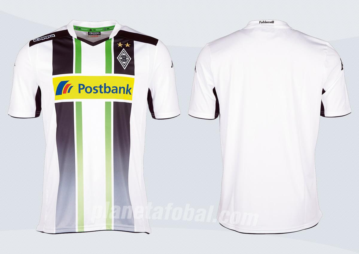 Camiseta titular del Borussia Monchengladbach | Imagenes Web Oficial