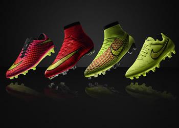 Los botines de Nike para el Mundial 2014