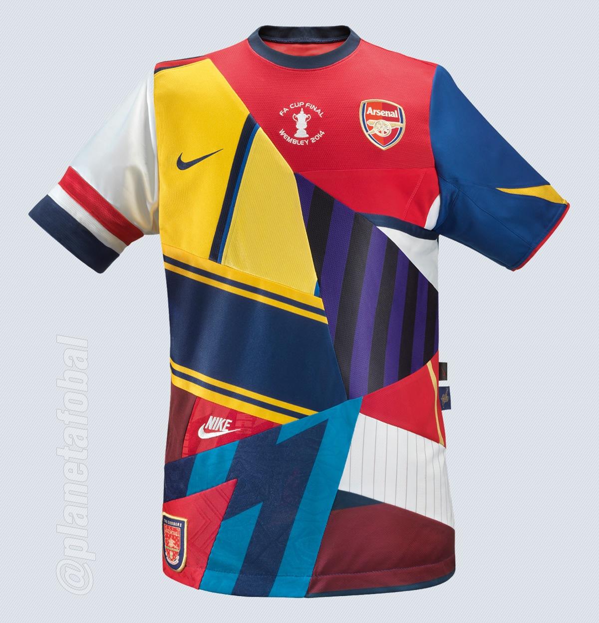 Nike se despide de Arsenal con una camiseta conmemorativa | Foto Nike