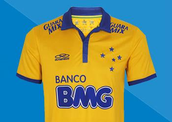 La nueva camiseta de Cruzeiro | Foto Web Oficial