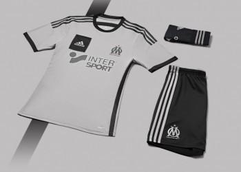 Camiseta suplente Adidas del Marsella | Foto Web Oficial