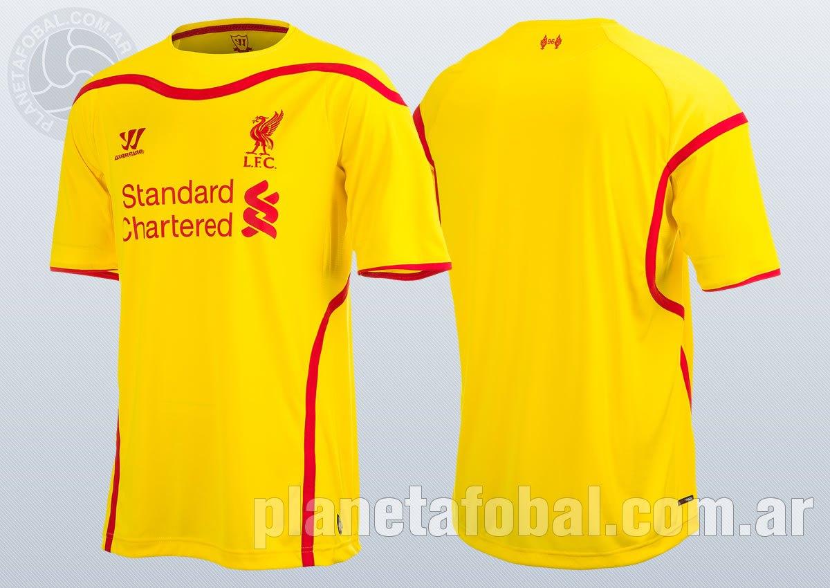 Camiseta suplente Warrior del Liverpool | Imágenes Web Oficial