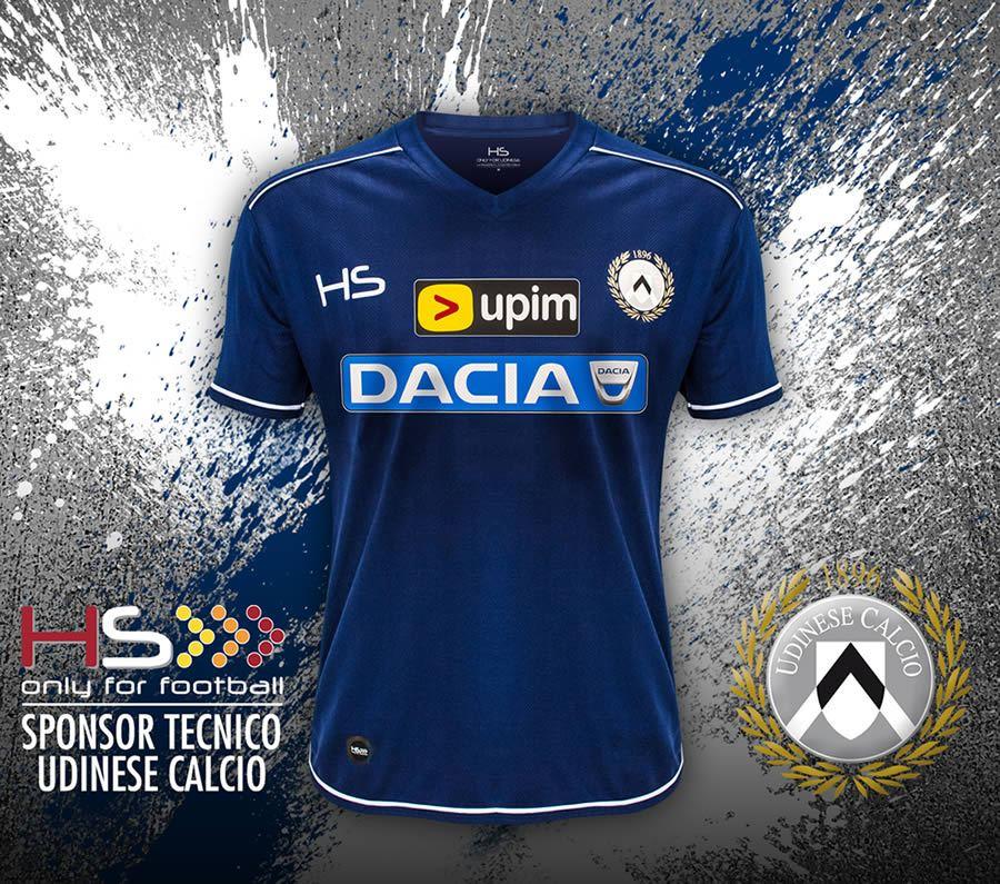 Así luce la nueva casaca suplente de Udinese | Foto HS Football