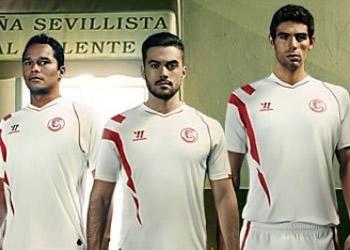 La nueva camiseta del Sevilla | Foto Warrior