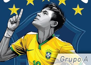 Grupo A: Brasil, Croacia, México y Camerún | Foto ESPN
