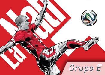 Grupo E: Suiza, Ecuador, Francia y Honduras | Foto ESPN
