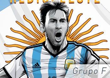 Grupo F: Argentina, Bosnia, Irán y Nigeria | Foto ESPN